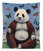 Panda Buddha Tapestry
