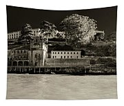 Panorama Alcatraz Up Close Tapestry