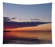 Panorama - Toronto Sunrise In June  Tapestry