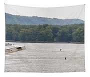 Panoramic Barge Tapestry