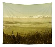 Panoramic Of Sailing Ship, Beacon Hill Tapestry