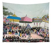Panoramic View Of The Yam Custom Tapestry