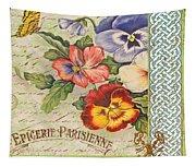 Pansy Garden-b Tapestry