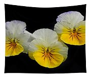 Pansy Trio Tapestry
