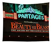 Pantages Theather Marquie Tapestry