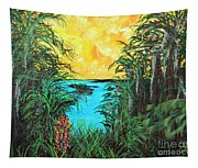 Panther Island In The Bayou Tapestry