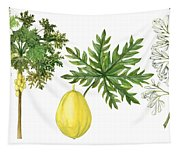 Papaya Tapestry