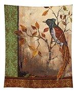 Paradise Flycatcher Tapestry