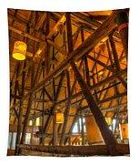 Paradise Lodge Mt Rainier Natl Park Tapestry