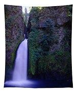 Paradise Pours Wanclella Falls Oregon Tapestry