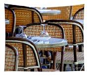 Paris Cafe 2 Tapestry