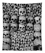 Paris Catacombs Tapestry