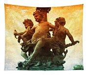 Paris Cherubs Tapestry