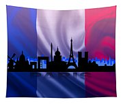 Paris City Tapestry