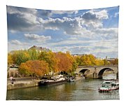 Paris In Autumn Tapestry