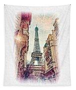Paris Mon Amour Tapestry
