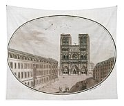 Paris Notre Dame, 1700s Tapestry
