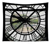 Paris Time Tapestry