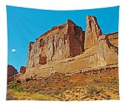 Park Avenue In Arches National Park-utah Tapestry
