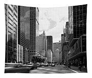 Park Avenue In New York City Tapestry