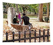 Park Games Tapestry