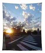 Parkway Sunset Tapestry