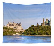 Parliament Buildings And The Fairmont Tapestry