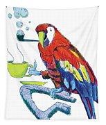Parrot Cartoon Tapestry