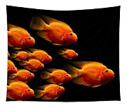 Parrot Fish Tapestry