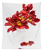 Parrot Tulips In A Milk Jug Tapestry