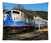 Passenger Train Tapestry