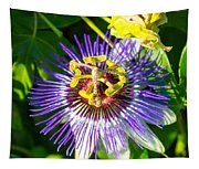 Passion Fruit Flower Tapestry