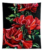 Passionately Red  Tapestry