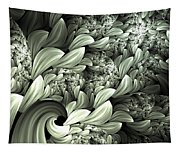 Pastel Garden Abstract Tapestry