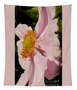 Pastel Pink Mallow Tapestry