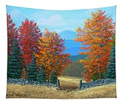 Pasture Gate In Autumn Tapestry
