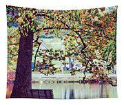 Patches Of Color Tapestry