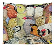 Patchwork Birds Tapestry