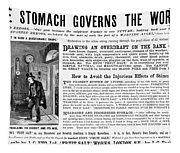 Patent Medicine: Stomach Tapestry