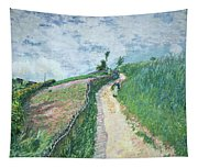 Path Leading To Ville D'avray Tapestry