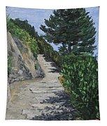 Path To L'eremo Sul Mare Tapestry