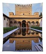 Patio De Los Arrayanes La Alhambra Tapestry