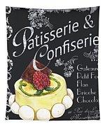 Patisserie And Confiserie Tapestry by Debbie DeWitt