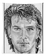 Patrick Swayze In 1989 Tapestry