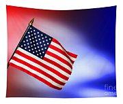 Patriotic American Flag Tapestry
