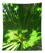 Green Plant Pattern Tapestry