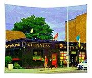Patty's Pub Guinness On The Glebe Restaurant Bar Bank And Ossington Paintings Of Ottawa Art Cspandau Tapestry