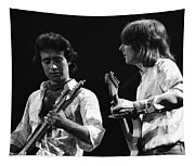 Paul And Mick In Spokane 1977 Tapestry