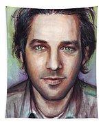 Paul Rudd Portrait Tapestry