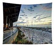 Pavilian And The December Sunrise Tapestry
